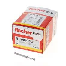 Afbeeldingen van Fischer Nagelplug      n5x40/15s