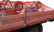 Afbeeldingen van Aanhangwagennet, rood, 200x150cm