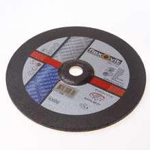 Afbeeldingen van Flexovit Afbraamschijf A 24 Q-BF2 7 staal en RVS 230 x 7 x 22mm