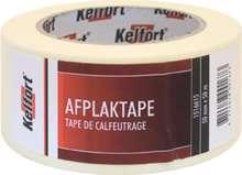 Afbeeldingen van Afplaktape Crêpe papier 50mm x 50 meter