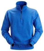 Afbeeldingen van Zip sweatshirt blauw l