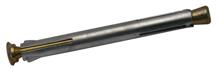 Afbeeldingen van Kozijnplug metaal verzinkt 10 x 130mm