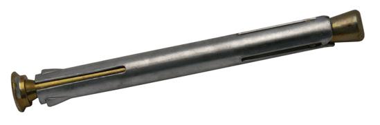 Afbeelding van Kozijnplug metaal verzinkt 10 x 110mm