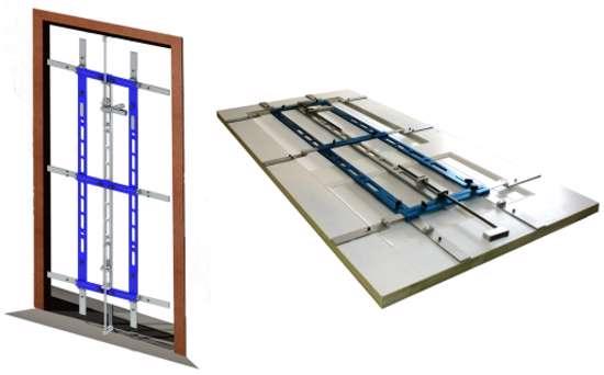 Afbeelding van Groothandel Framefitter voor afhangen deuren