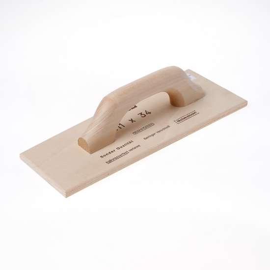 Afbeelding van Triuso Schuurbord hout 34 x 13/11cm