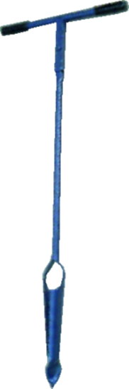 Afbeelding van De Wit Grondboor met gedraaide punt 10Cm verlengbaar 1300 x 100/4mm