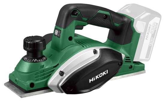 Afbeelding van HiKOKI P18DSL W2Z accu schaafmachine 18V exclusief accu's en lader, inclusief systainer HSC III