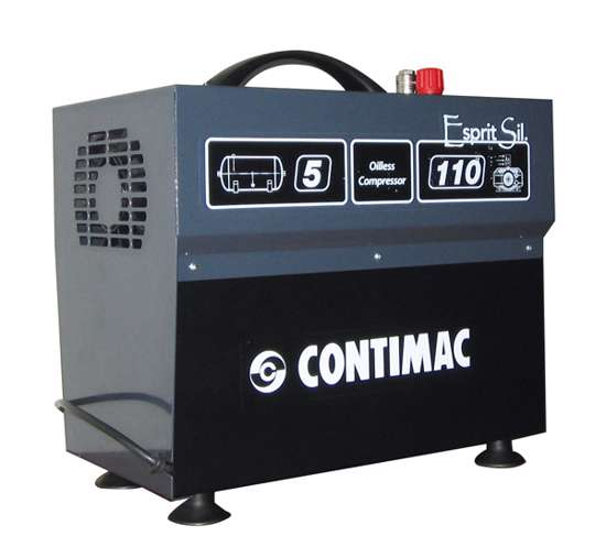 Afbeelding van Contimac Compressor CM110/8/5 silent