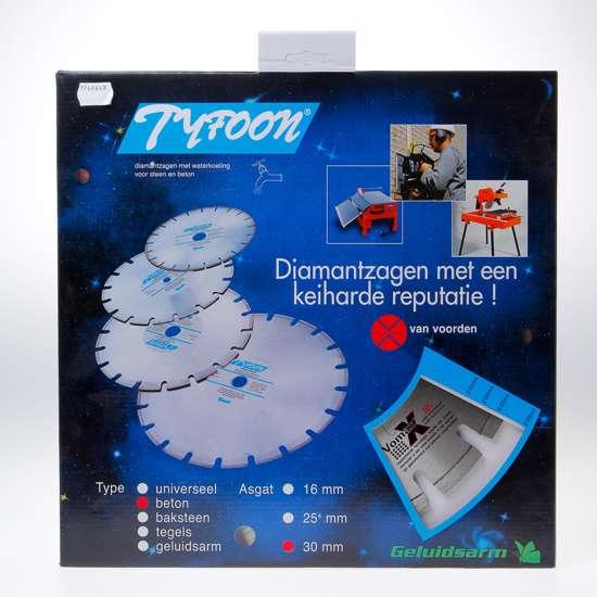 Afbeelding van Diamantzaag nat Tyfoon beton diameter 300 x asgat 30mm