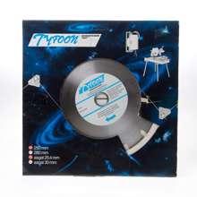 Afbeeldingen van Diamantzaag nat Tyfoon baksteen diameter 250 x asgat 30mm
