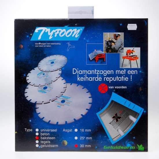 Afbeelding van Diamantzaag nat Tyfoon baksteen diameter 350 x asgat 30mm