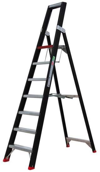 Afbeelding van Altrex Taurus enkel oploopbare trap TGB 7
