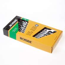 Afbeeldingen van Ironside Steeksleutelset 8-delig 6-22mm