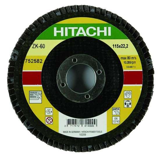 Afbeelding van Hitachi Lamellenschijf diameter 125mm K60