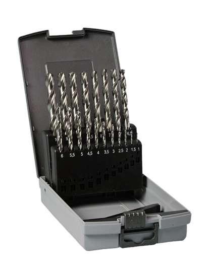 Afbeelding van Hitachi Cassette hss-g din 338 boren 19-delig