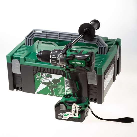 Afbeelding van HiKOKI DS36DA W2Z accu boor-schroefmachine Multivolt 36V mv-ex, exclusief accu's en lader,  in HSC systainer