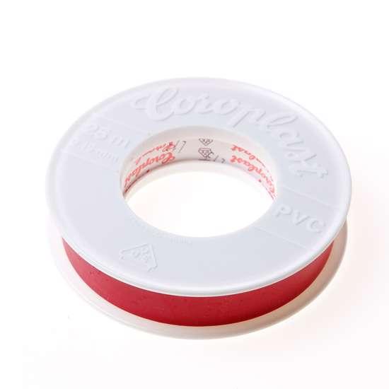 Afbeelding van Coroplast 302 tape rood 38mm x 25 meter