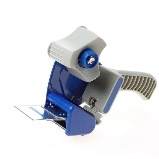 Afbeelding van Handkartonsluiter/plakbandrolhouder halfkunsstof met aandrukflap