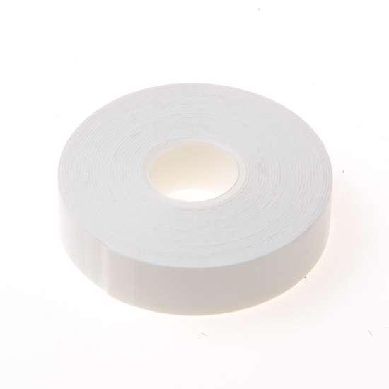 Afbeelding van Dubbelzijdige foam tape wit 0.8mm x 19mm x 5 meter