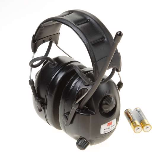 Afbeelding van 3M Gehoorkap Peltor met radio DAB+-FM headset