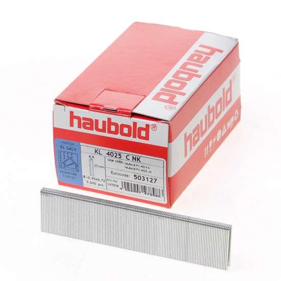 Afbeelding van Haubold nieten cnk gegalvaniseerd KL4000 25mm