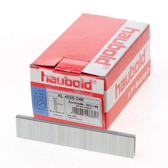 Afbeelding van Haubold nieten cnk gegalvaniseerd KL4000 20mm