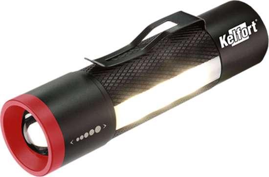 Afbeelding van Zaklantaarn multi led 3W inclusief batterijen