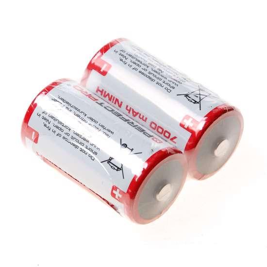 Afbeelding van Perfectpro Batterij size D-NiHM 7000mah (set van 2)