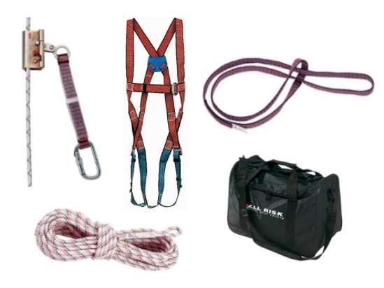 Afbeelding van All Risk Valbeveiliging dakenset in tas