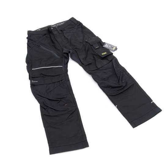 Afbeelding van Snickers RuffWork broek met holsterzak zwart maat S taille 48 W32