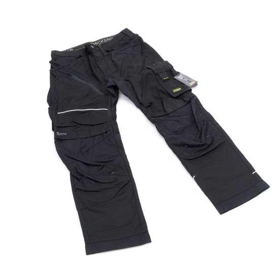 Afbeelding van Snickers RuffWork broek met holsterzak zwart maat L taille 52 W36
