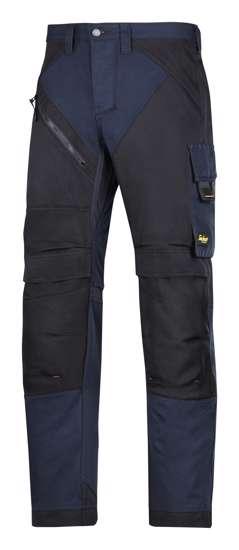 Afbeelding van Snickers RuffWork broek navy zwart maat XL taille 54 W38