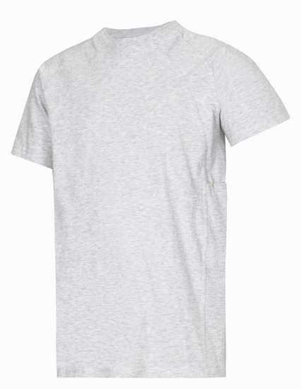 Afbeelding van Snickers t-shirt 2504 licht grijs maat L