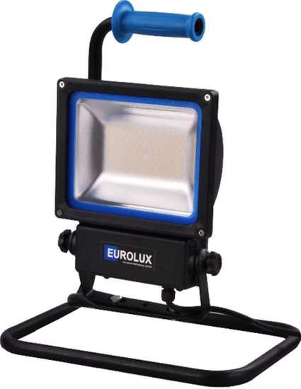 Afbeelding van Eurolux Bouwlamp led 60W 8000lumen Klasse II 5meter vaste standaard