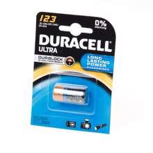 Afbeeldingen van Duracell Batterij cr123a 3v