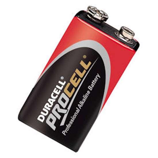 Afbeelding van Procell batterij stapel 9.0v pc1604 blister van 10 batterijen