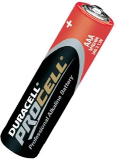 Afbeelding van Procell batterij potlood 1.5v aaa pc2400 blister van 10 batterijen