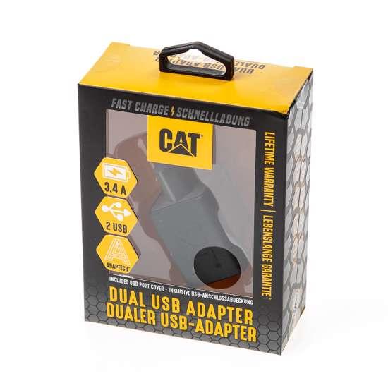Afbeelding van CAT Oplader voor in huis met 2 USB uitgangen