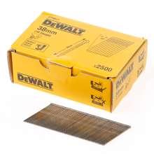 Afbeeldingen van DeWalt Inox spijkers zonder kop 38mm 16 Gauge 20° voor DC618 doos met 2500 spijkers