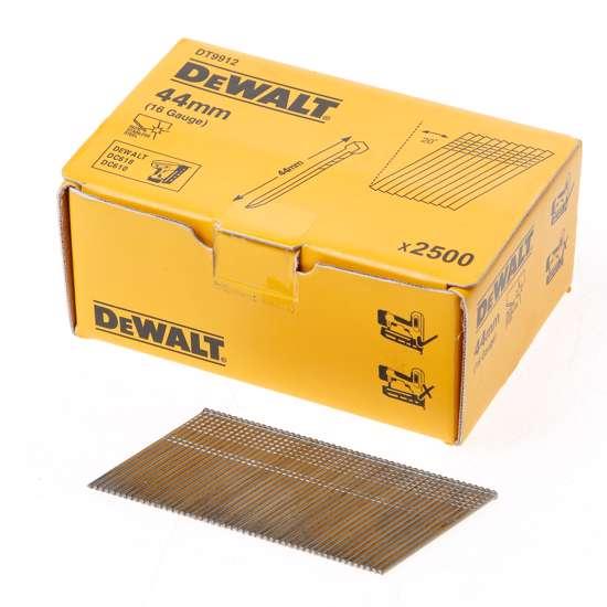 Afbeelding van DeWalt Inox spijkers zonder kop 44mm 16 Gauge 20° voor DC618 doos met 2500 spijkers