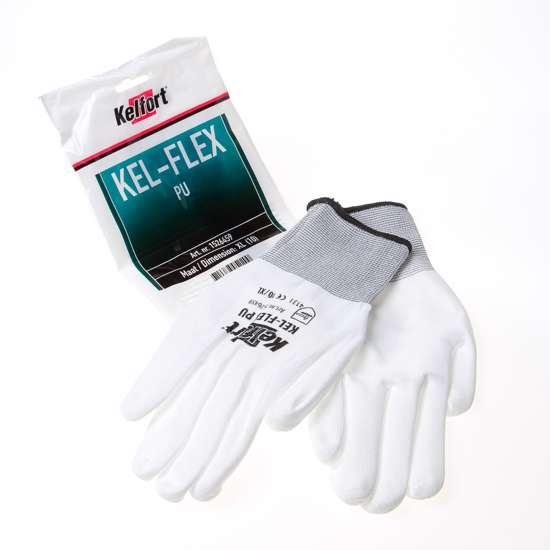 Afbeelding van Werkhandschoen flex pu wit maat XL(10)