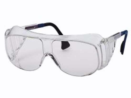 Afbeelding van Uvex veiligheidsoverzetbril transparant