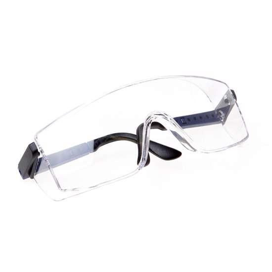 Afbeelding van Bolle Veiligheids bril frame blauw helder glas