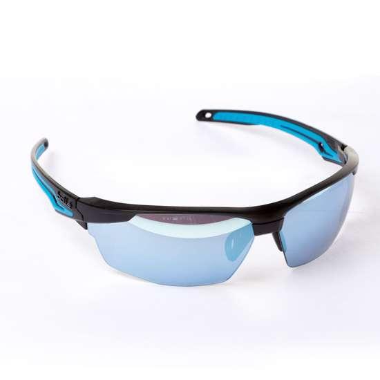 Afbeelding van Bolle Veiligheidsbril Tryon zonnelens zwart/blauw