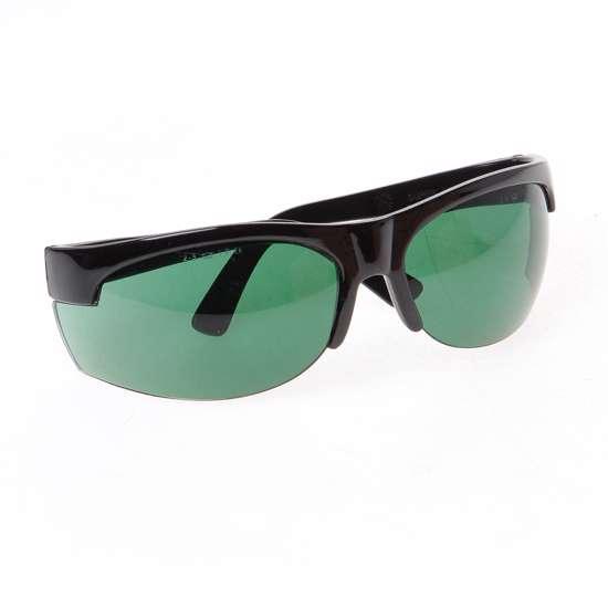 Afbeelding van Bolle bril super nylsun zwart groen glas