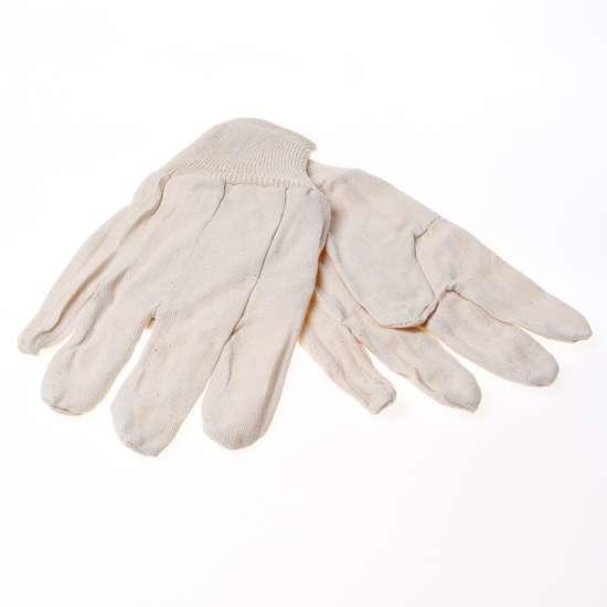 Afbeelding van Handschoen katoen met manchet maat XL(10)