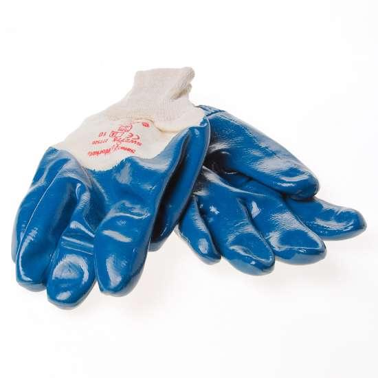 Afbeelding van Handschoen latex nitrile blauw maat XL(10)
