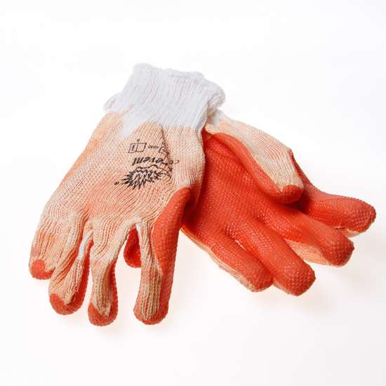 Afbeelding van Handschoen prevent extra ventilatie oranje maat L(9)