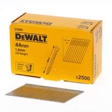 Afbeeldingen van DeWalt Spijkers zonder kop gegalvaniseerd 44mm 16 Gauge 1,6mm 20° voor DC618 doos van 2500 spijkers