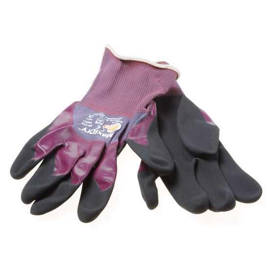 Afbeelding van Handschoen maxidry paars/zwart maat: 9